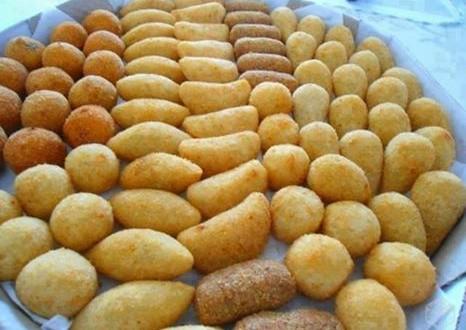 Massa Basica Para Salgadinhos Fritos (LEVE)