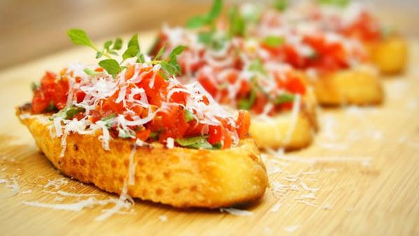 Bruschetta Italiana de Tofu