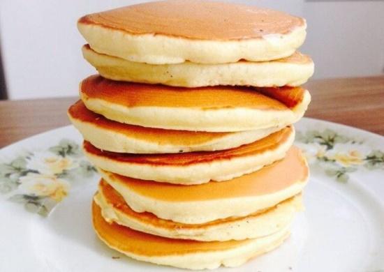 Fridge Pankake - Panqueca Frita Americana Salgada