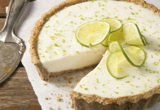 Torta de Limão Funcional Sem Glúten e Sem Lactose